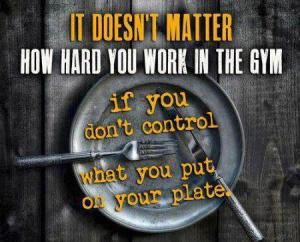 fitness plate