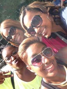 hazel's girls smiling